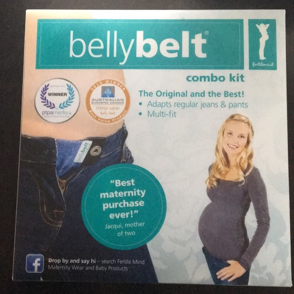 Maternity Clothing Belly Belt Kit Combo Kit Maternity Pant Conversion